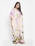 Floral Boho Kaftan Maxi Dress - Plus - 4