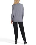 Isaac Mizrahi Long Sleeve Crew Neck Sweater - 8
