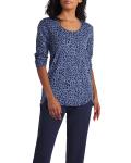Isaac Mizrahi Scoop Neck Forward Short Sleeves Pullover - 6