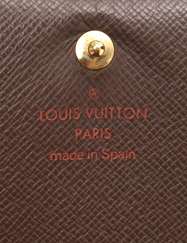 Louis Vuitton Tresor Damier Ebene Wallet
