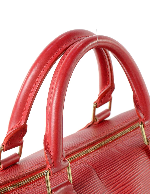 Louis Vuitton Speedy 30 Epi Handbag