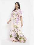 Floral Boho Kaftan Maxi Dress - Plus - 3