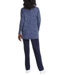 Isaac Mizrahi Scoop Neck Forward Short Sleeves Pullover - 5