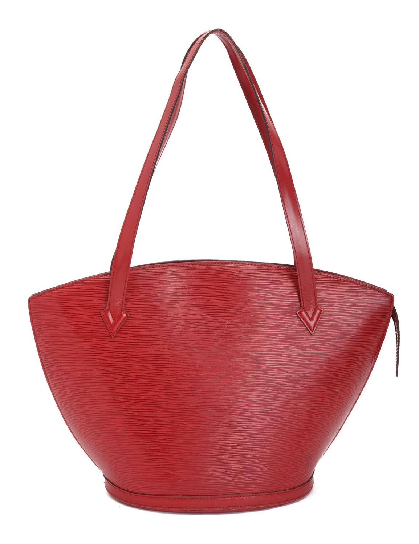 Louis Vuitton Saint-Jacques Shopping Epi Tote Bag