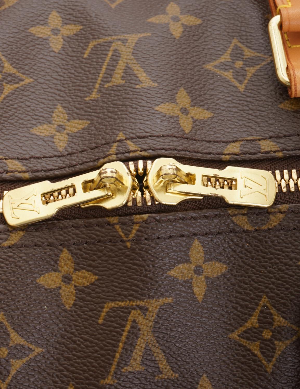 Louis Vuitton Keepall 55 Bandoulière Monogram Travel Bag