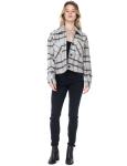 26 International Wool Like Plaid Crop Shacket - 3