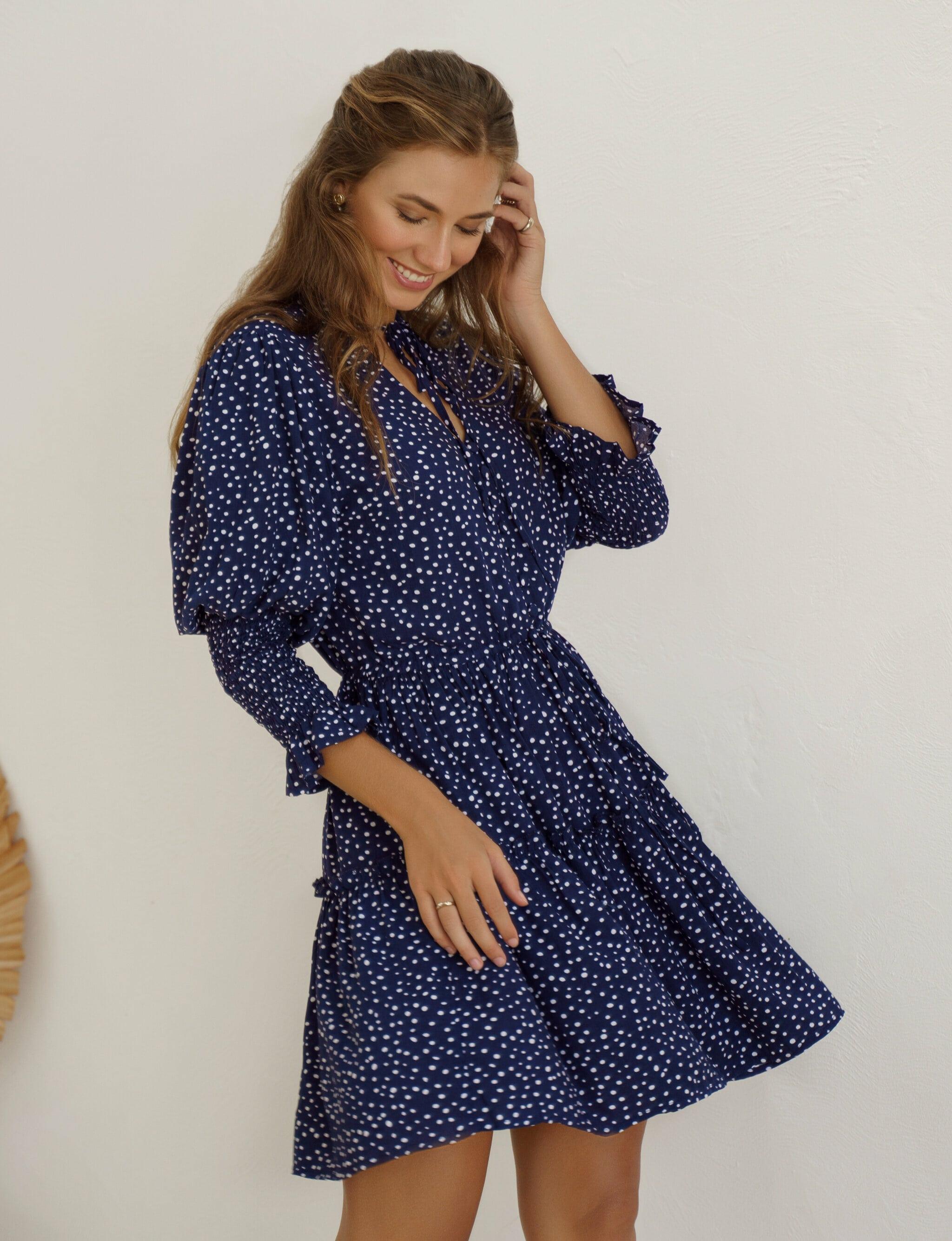 Simone Mini Dress - Plus