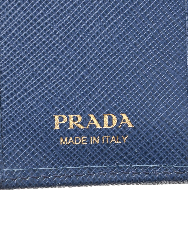Prada Saffiano Compact Wallet