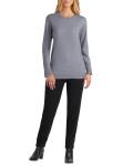 Isaac Mizrahi Long Sleeve Crew Neck Sweater - 7