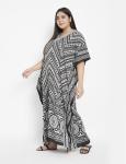 Trible Boho Long Kaftan Dress - Plus - 6