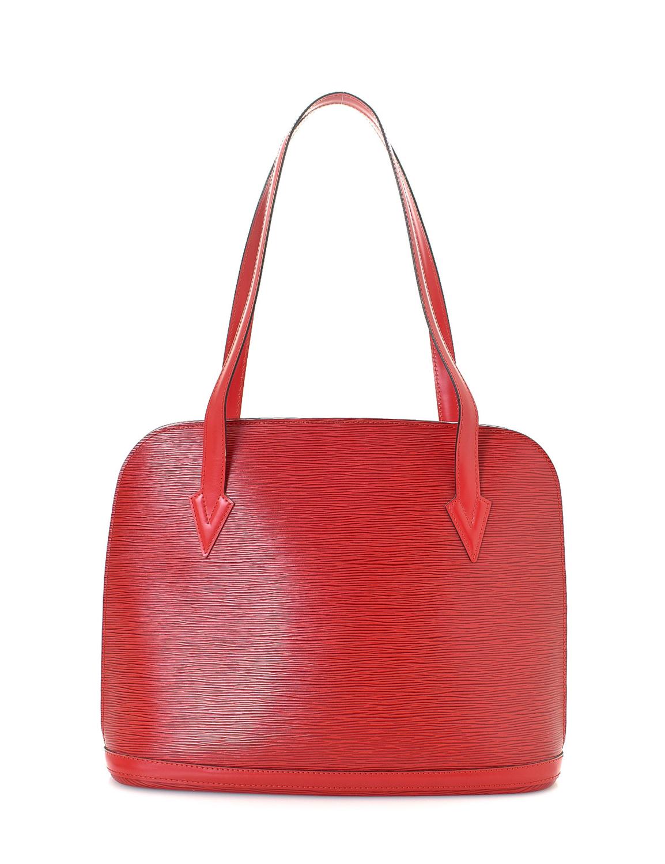 Louis Vuitton Lussac Epi Tote Bag