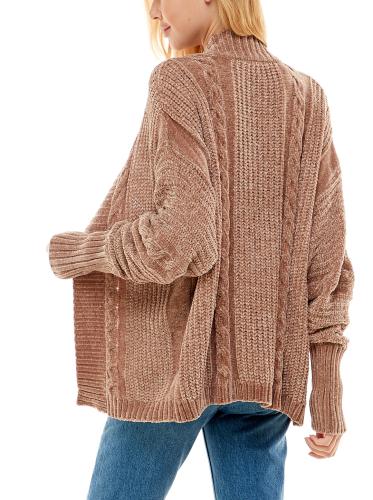 Madison & Hudson Chenile Textured Cardigan - Back