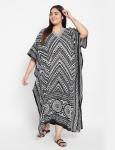 Trible Boho Long Kaftan Dress - Plus - 3