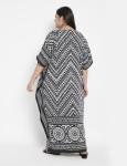 Trible Boho Long Kaftan Dress - Plus - 2