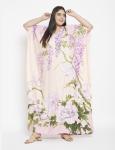 Floral Boho Kaftan Maxi Dress - Plus - 1