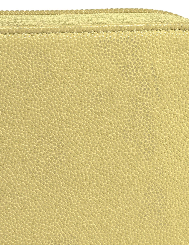 Chanel Caviar Zip Around Wallet