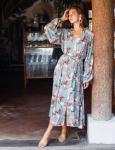 Sunday Wish Island Jade Shirt Dress - Plus - 1
