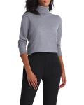 Isaac Mizrahi Long Sleeve Turtle Neck Sweater - 6