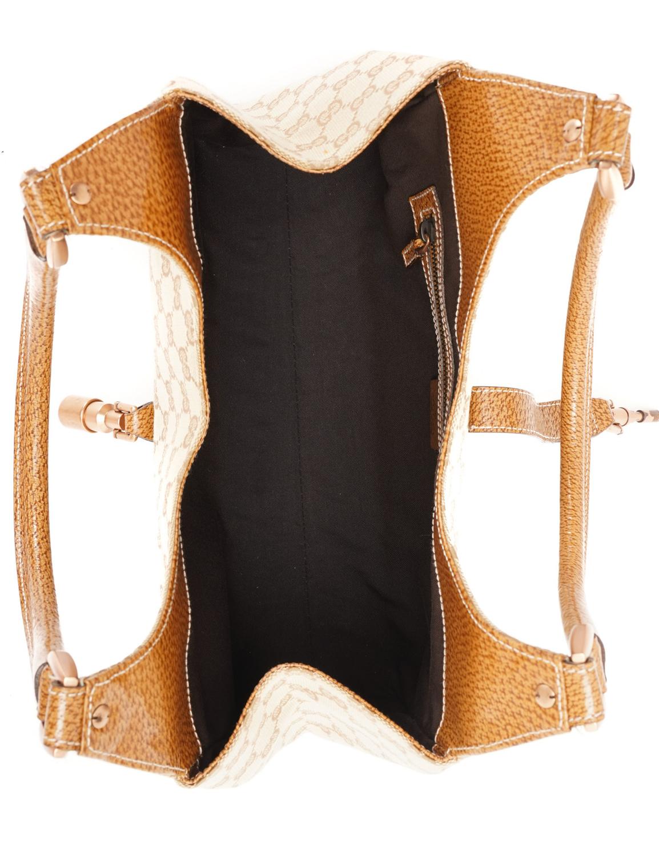 Gucci GG Canva Nailhead Bardot Shoulder Bag