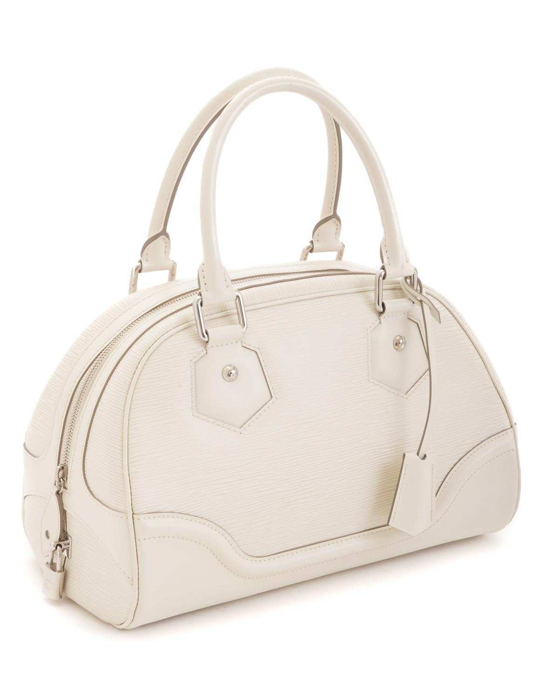 Louis Vuitton Bowling Montaigne PM Epi Handbag