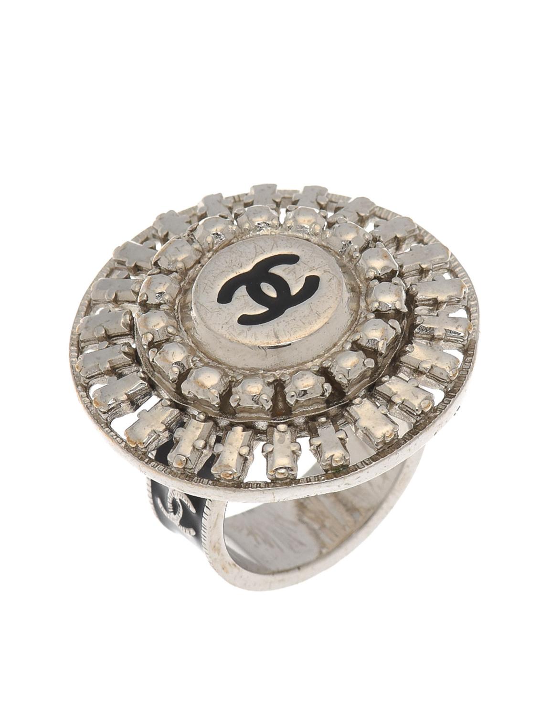 Chanel CC Logo Round Ring