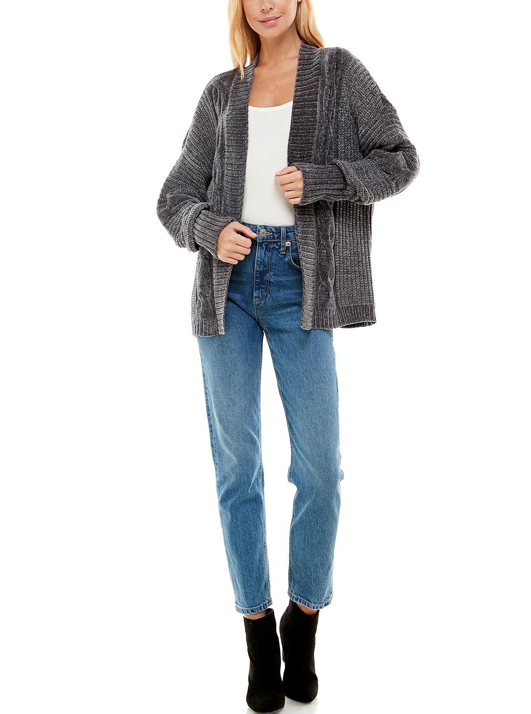 Madison & Hudson Chenile Textured  Cardigan