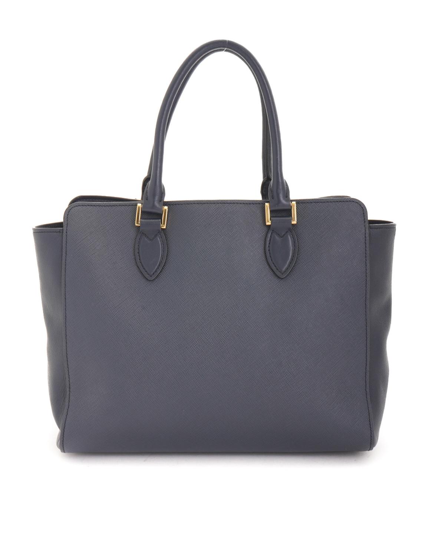 Prada Saffiano Two Way Tote Bag