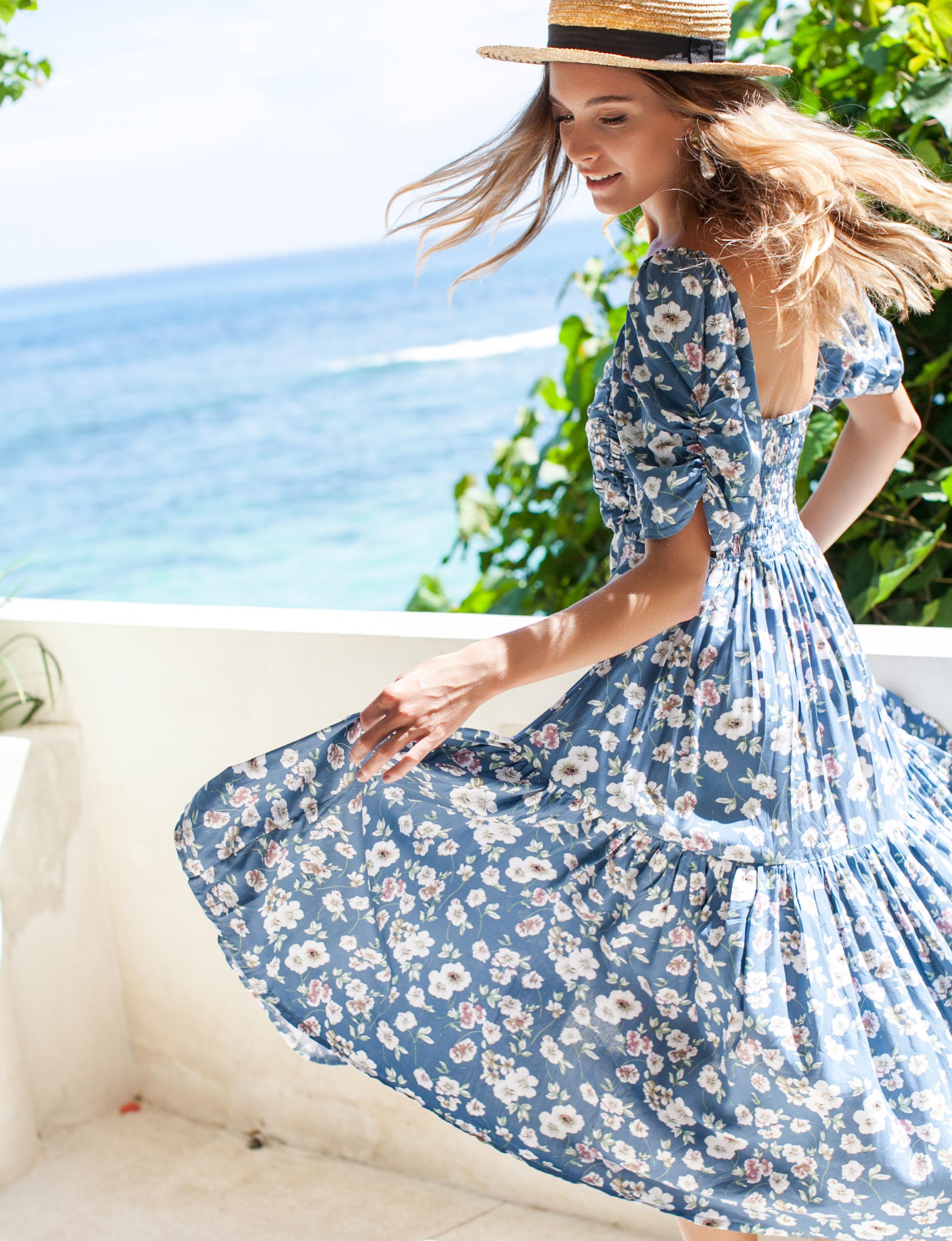 Lilit Jasmine Midi Dress