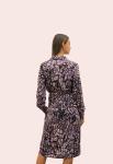 Amelia New York Purple Mist Tie Shirt Dress - 2