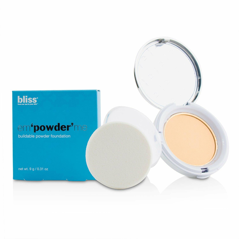 Bliss Women's # Tan Em'powder' Me Buildable Powder Foundation
