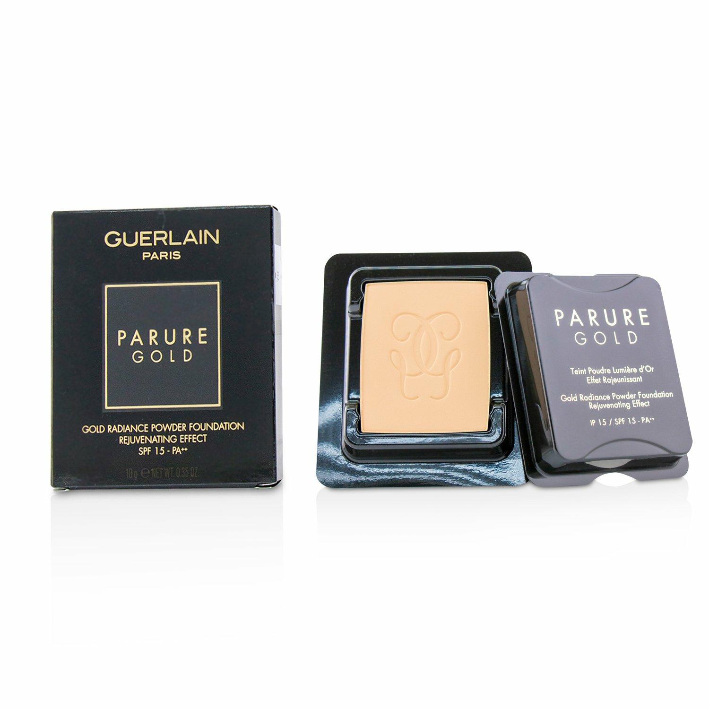 Guerlain Women's # 31 Pale Amber Parure Gold Rejuvenating Radiance Powder Foundation Spf 15 Refill