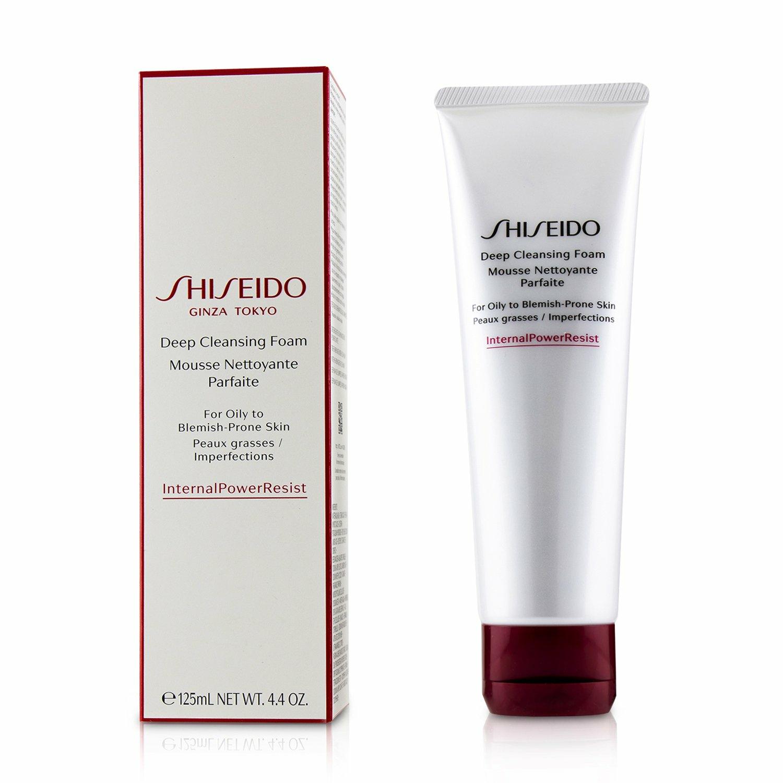 Shiseido Women's Defend Beauty Deep Cleansing Foam Face Cleanser