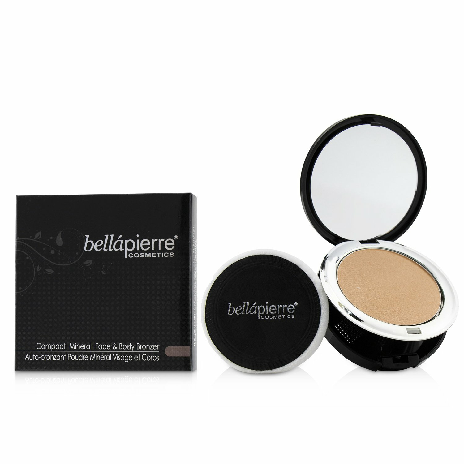 Bellapierre Cosmetics Women's # Peony Compact Mineral Face & Body Bronzer Bronzers Highlighter