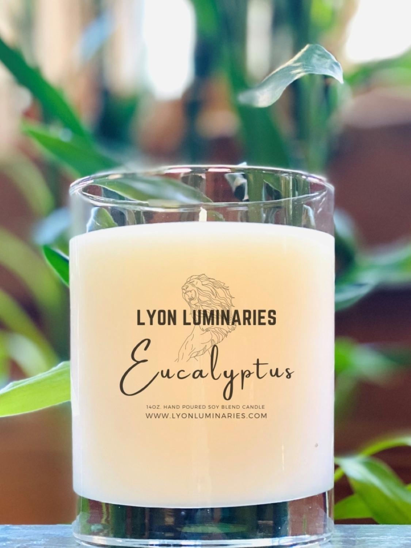 Eucalyptus Soy Blend Candle