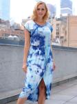 DB Sunday Tie Dye Tulip Front Dress - 1