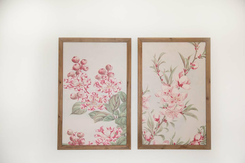 Floral Framed Art-2 Ast