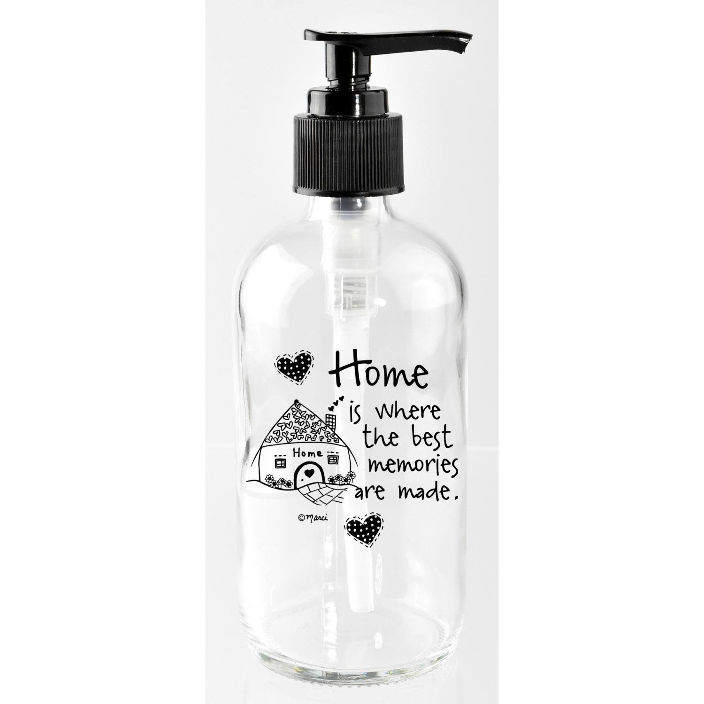 Home Is Where The Best 8Oz Soap Dispenser - Marci Art