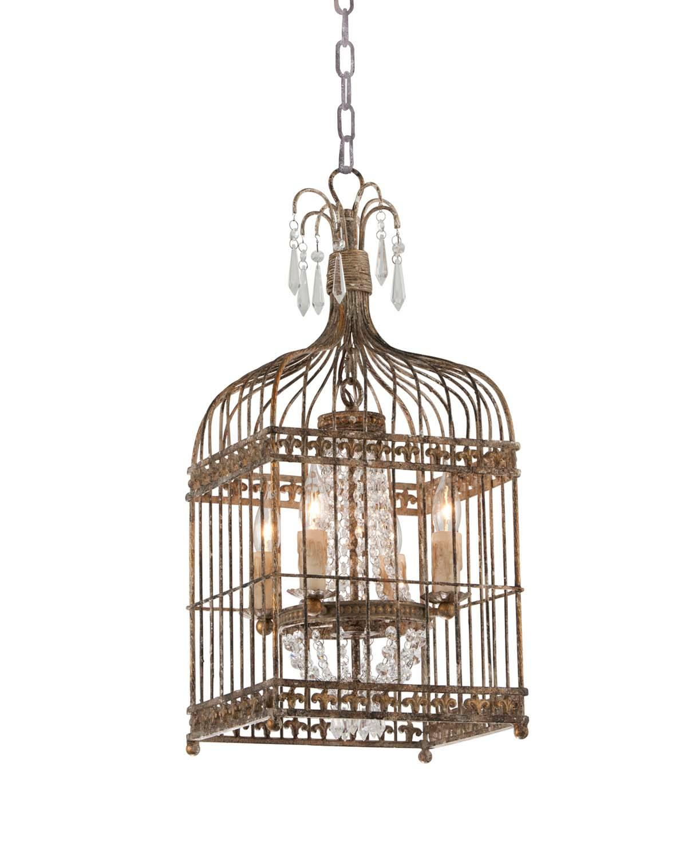 Charlotte Metal Bird Cage Chandelier