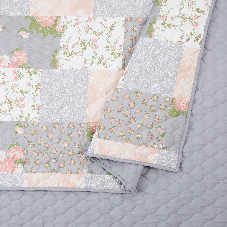 Modern Heirloom La Flor Quilt Set-3 Piece