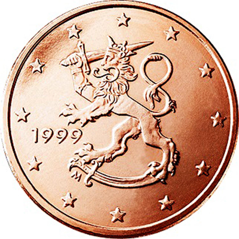 Finland 2 Euro Bar Coin Tie Clip