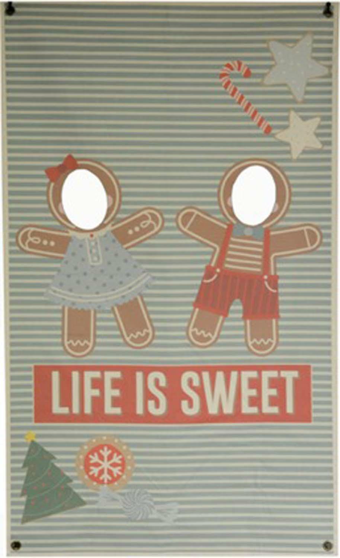 Gingerbread People Banner