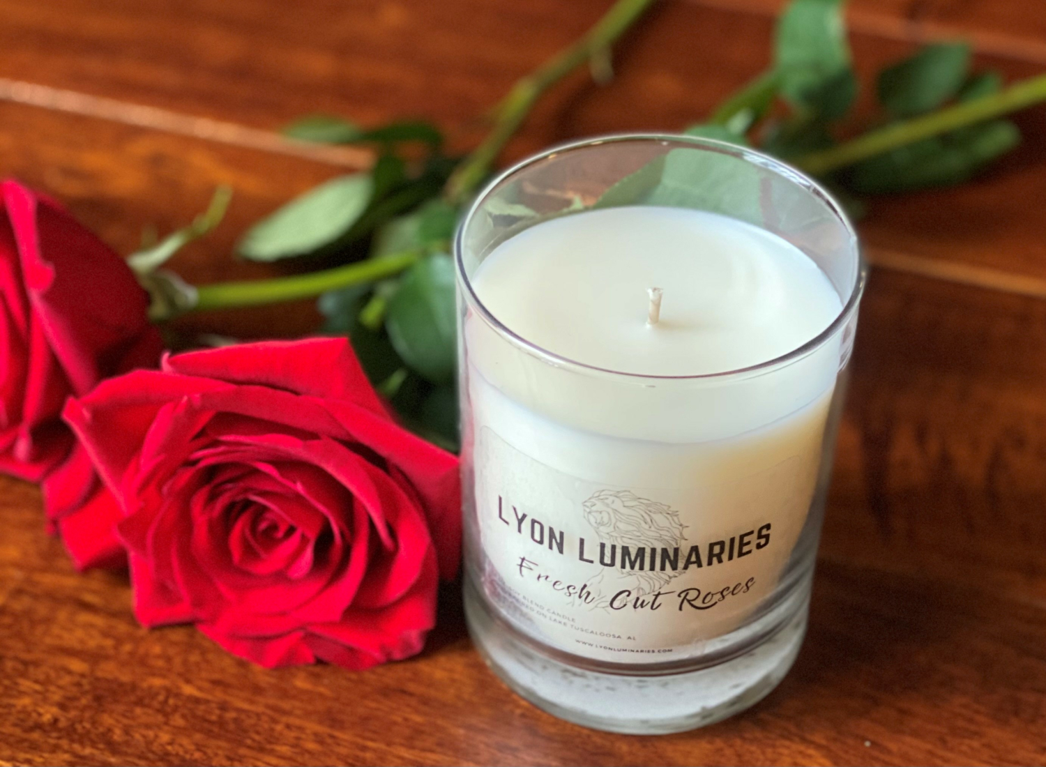 Fresh Cut Roses Soy Blend Candle