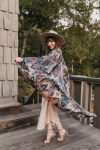 Sukiso Women's Gold Deco Isabella Kimono - O/S - 1