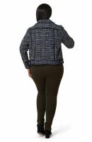 Maree Pour Toi Tweed Jacket - Plus - Back