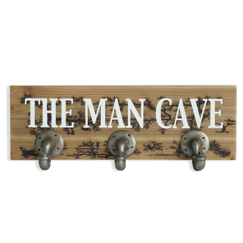 Man Cave Pipe Hook Wall Art