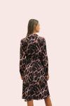 Amelia New York Mauve Quartz Print High- Low Dress - 2