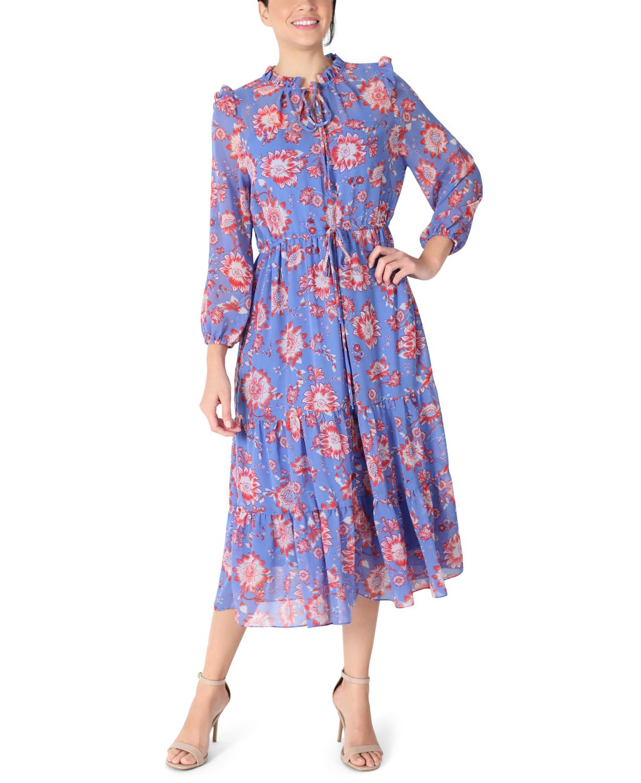 JJ Long Sleeve Ruffle Dress
