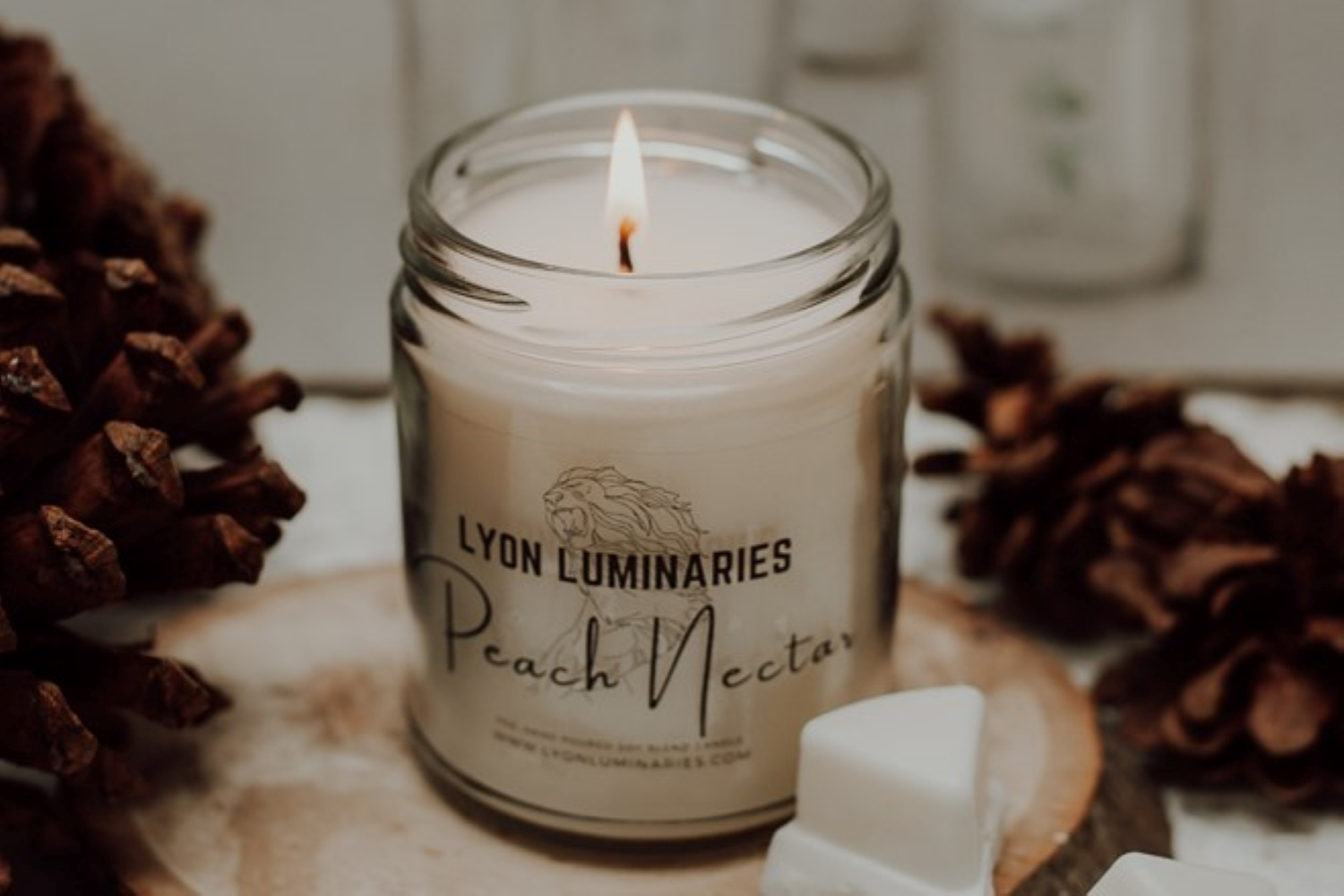 Peach Nectar Soy Blend Candle