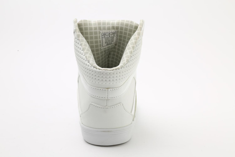 Pastry Pop Tart Grid Adult Sneaker White