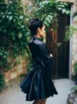 SukiSo Elsa Wrap Dress in Black - 6